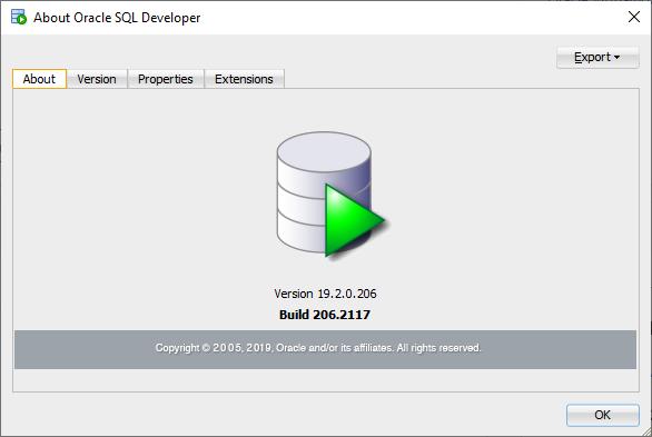 How do I know what version of SQL Developer I have?