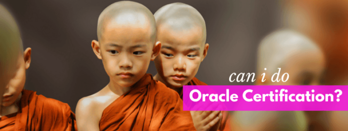 I am not a computer science student can I Do Oracle Database Certification by manish sharma