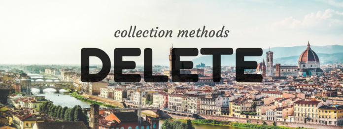 pl/sql collection method delete in oracle database by manish sharma