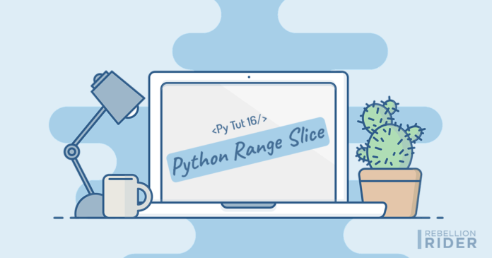 Python Range Slice Operator by Manish Sharma