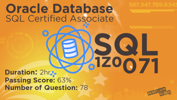 SQL is the key ingredient for Data Science