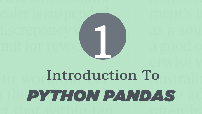 what is python pandas
