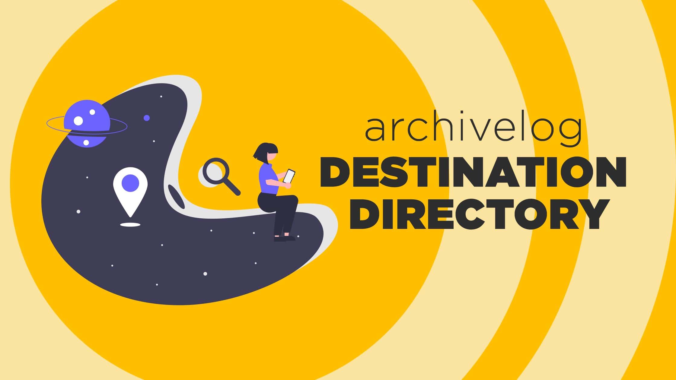 archive log destination directory log_archive_dest_n